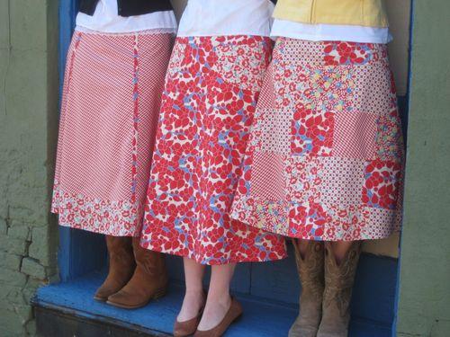 Marie Madeline Studio Hooray Street Fair Skirt Sewing Patterns Are