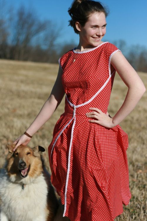 A girl and her dog 012