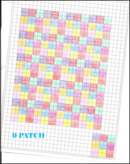 9 patch pattern 2