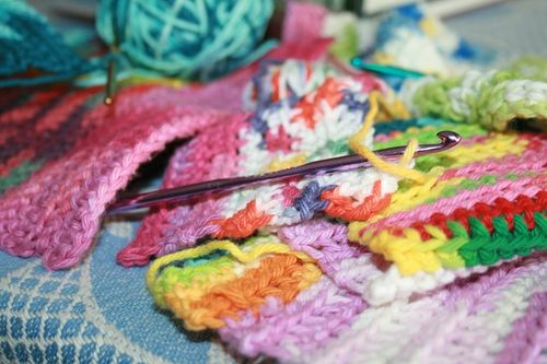 Colorful crochet 006