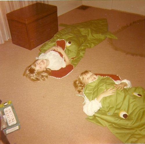 Alligator_sleepingbags
