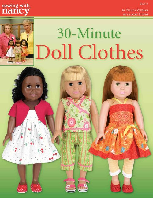 30-Minute Doll Clothes Book Cover